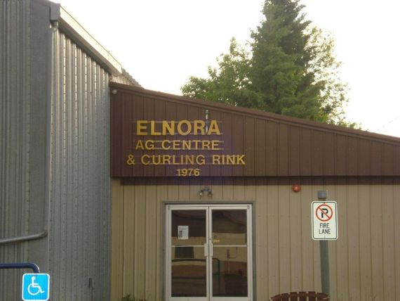 Elnora Ag Centre and Curling Rink