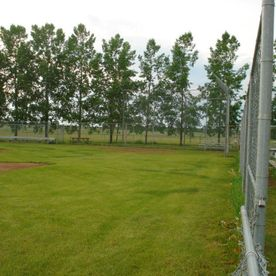 Elnora Campground playground